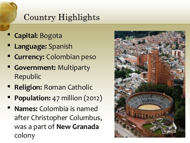Colombia: Basic Facts