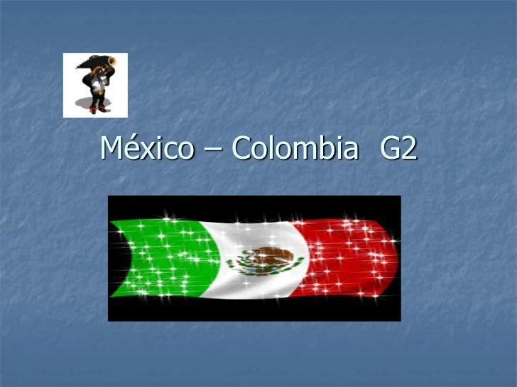 México – Colombia G2