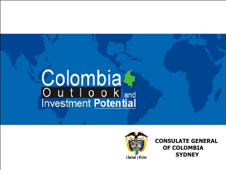 ah CONSULATE GENERAL  OF COLOMBIA  SYDNEY