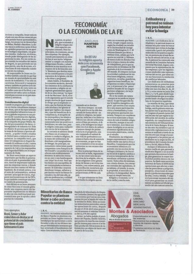 """""""Colombia compra inteligencia vasca"""" El Correo Slide 2"""