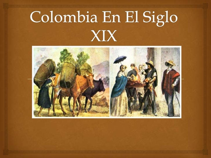 Colombia en el siglo xix for Diseno de interiores siglo xix