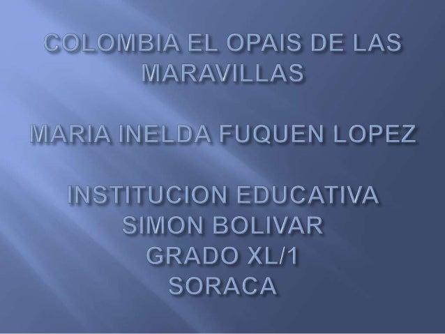  Desde tiempos atrás Colombia se a convertido en unos de los países mas pobres a nivel mundial ,reina al pobreza y cada d...
