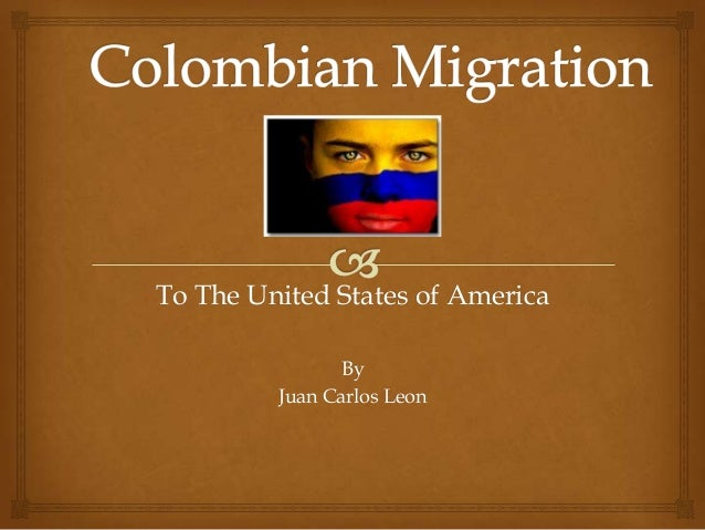 To The United States of America By Juan Carlos Leon