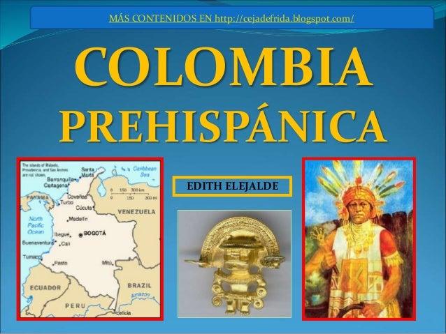 Colombia prehisp nica for Trabajo en comedores escolares bogota