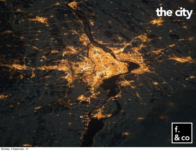 the city Monday, 2 September, 13