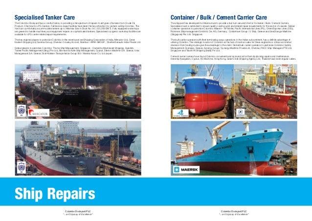 Colombo dockyard plc profile double spread updated final
