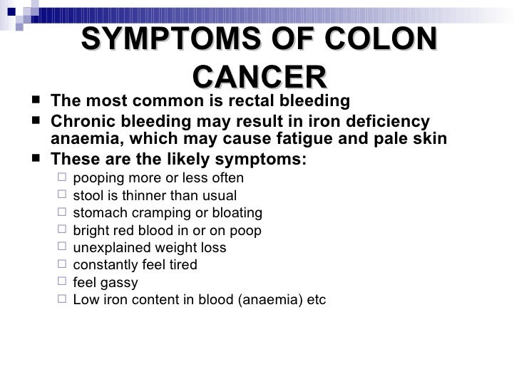 Colon Cancer Simple