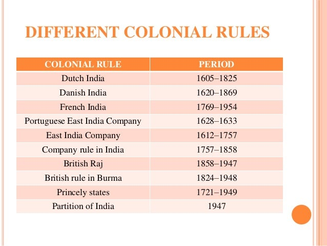effects of british colonial rule in india essay When the british went into india  great britain had many negative effects on their colonial rule  we will write a custom essay sample on causes of british.