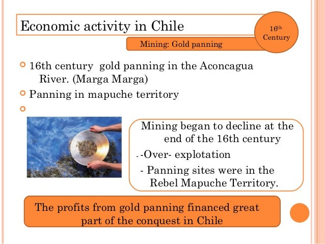 Economic activity in Chile 17th Century Agriculture and Livestock Hacienda Leather Jerky Tallow Wheat Exported Potosí, Per...