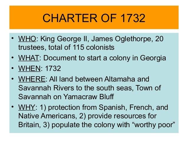Georgia's Colonization
