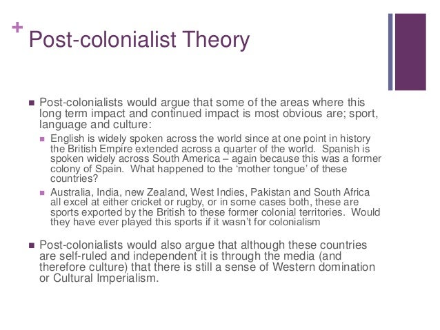 Colonialism post colonialist theory globalisation the for Case in stile british west indies