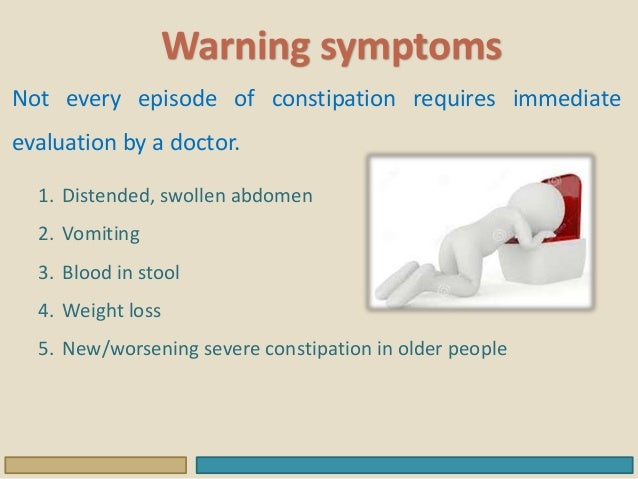 Colonic diseases-Constipation