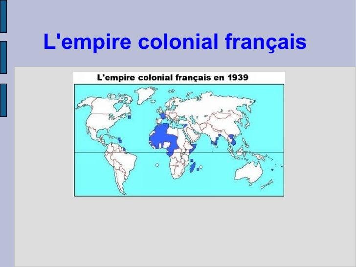 Lempire colonial français