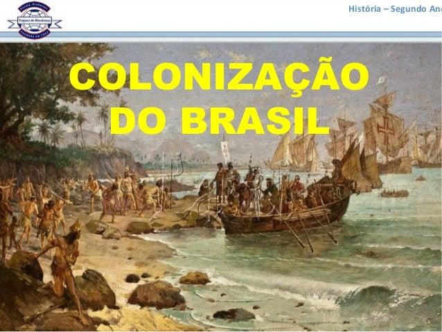 História – Segundo Ano COLONIZAÇÃO DO BRASIL