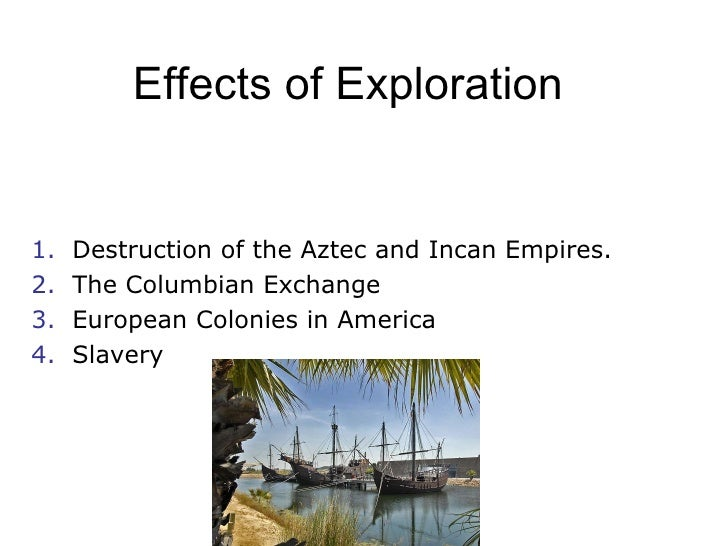 Spanish colonization and destruction of the