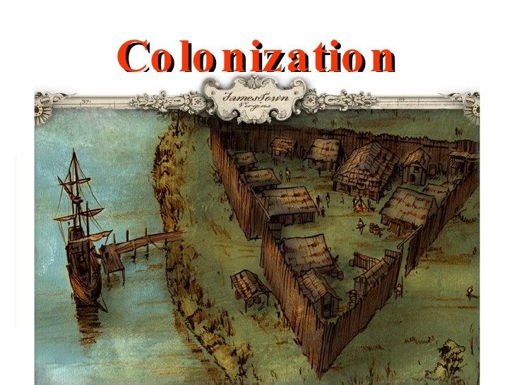 Colonization Unit 1 Notes
