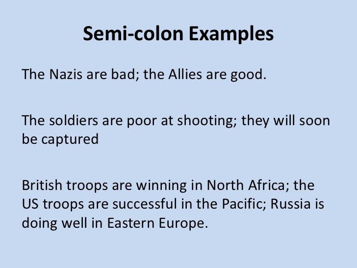 Semicolon And Colon Worksheet Kubreforic