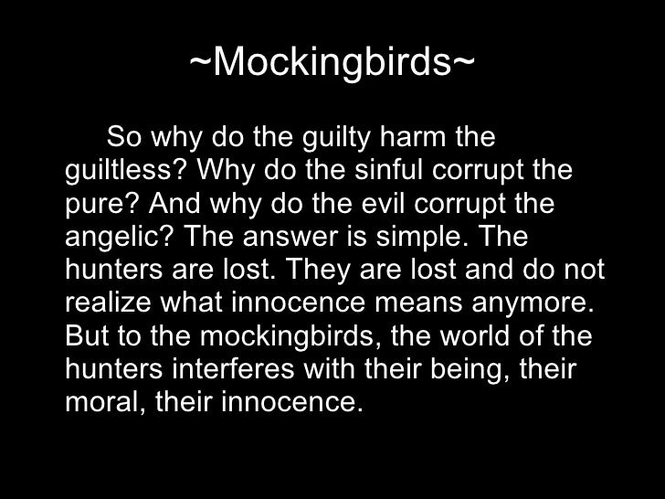 Essay to kill a mockingbird