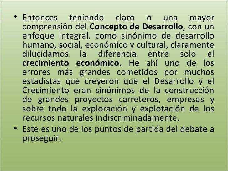 Desarrollismo vs madre tierra cochabamba - Sinonimos de aprovechar ...