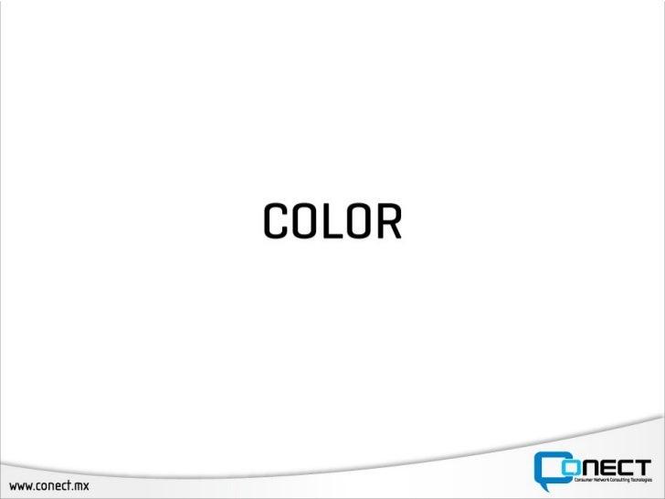 Uso del color en el diseño web