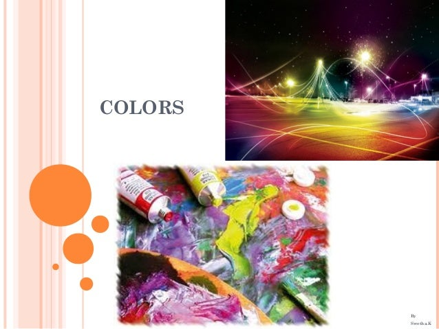 COLORS By Swetha.K