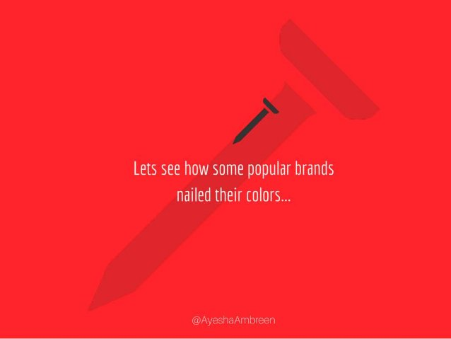 Lets see how some popular brands nailed their colors... Lets see how some popular brands nailed their logo colors…