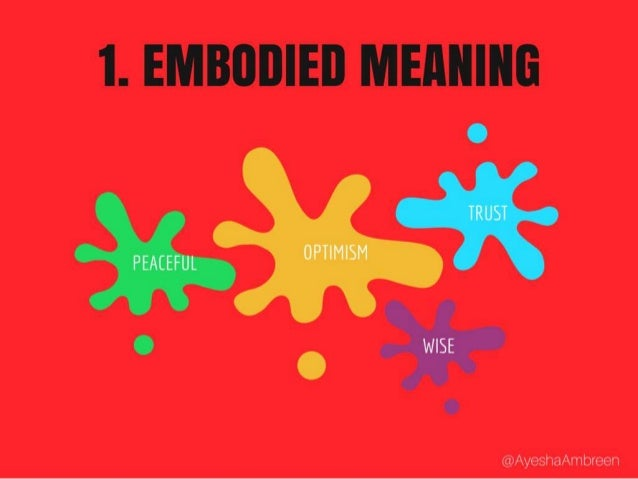 1. Embodied Meaning Examples