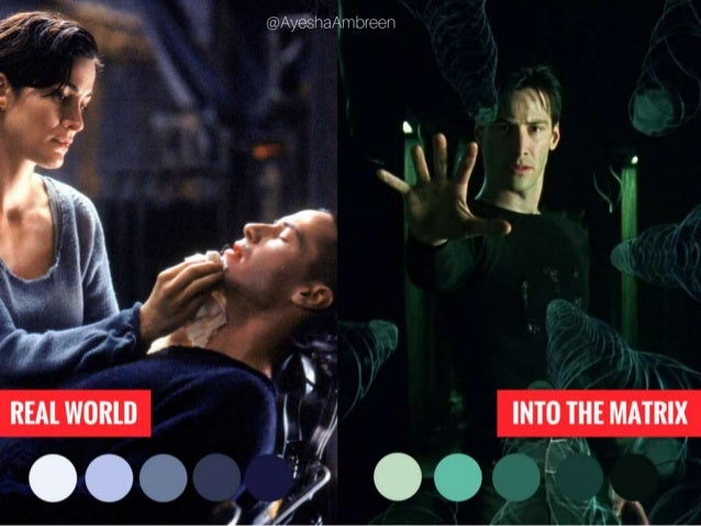 The Matrix: Real World vs. Into the Matrix