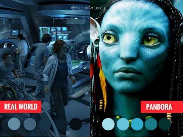 The Avatar: Real World vs. Pandora