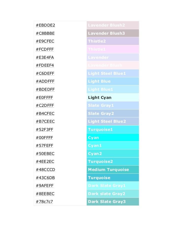 Color Code