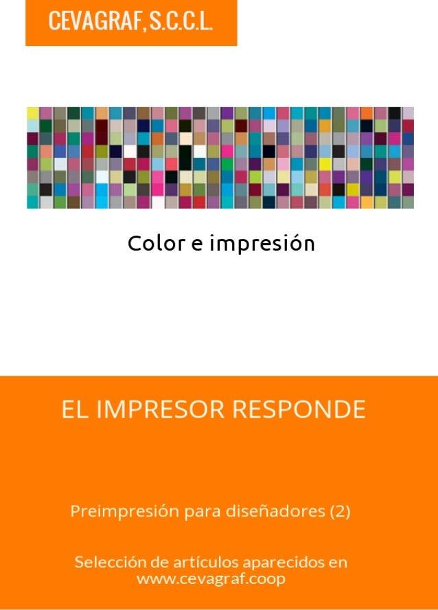 Color e Impresión