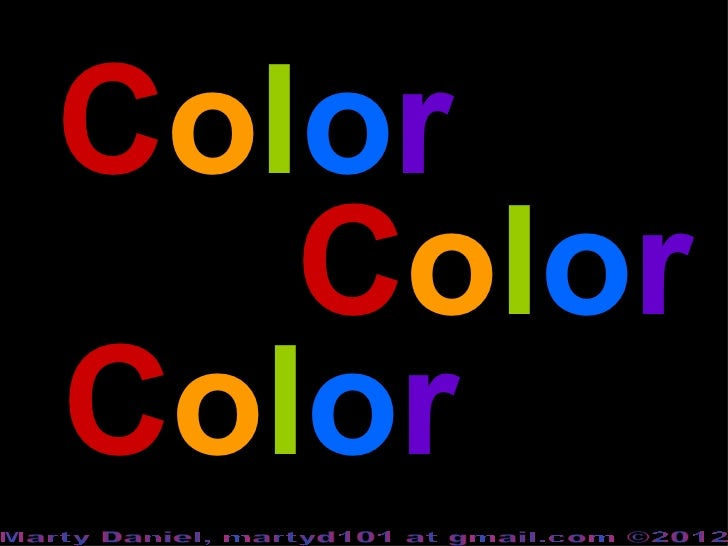 Color theory-elementary