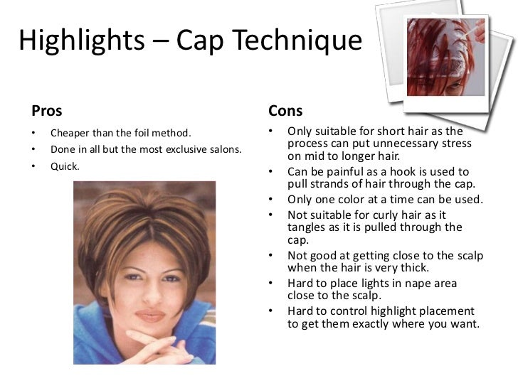 How To Highlight Your Hair With A Cap And Then Lowlight It