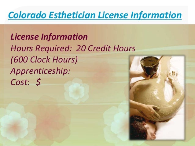 how to become an esthetician in colorado