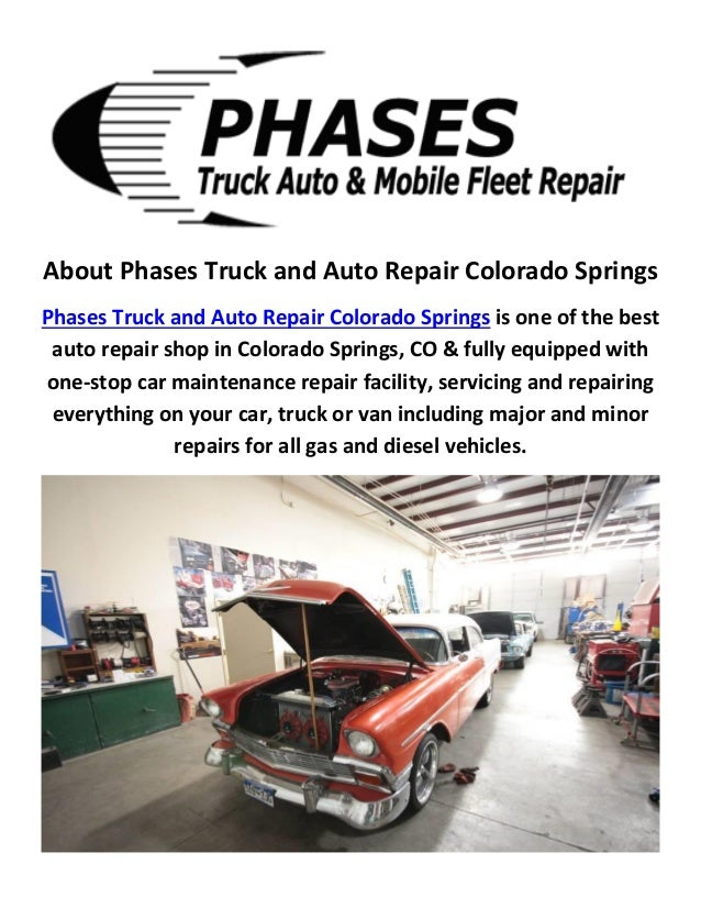 Colorado Springs Automotive By Phases Truck And Auto Repair
