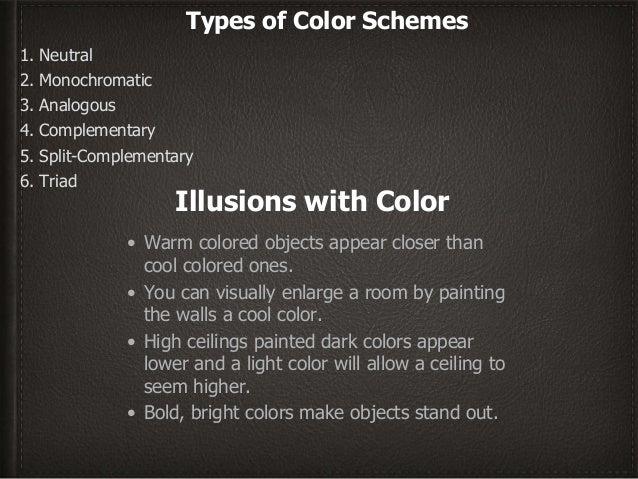 interior design color schemes ppt www