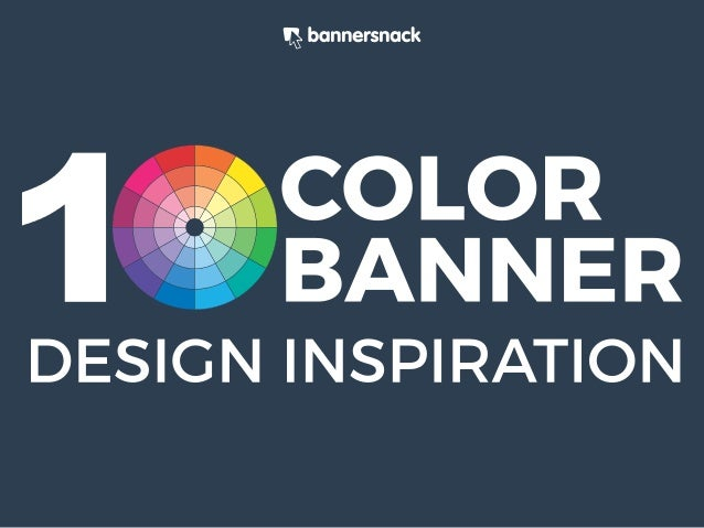 10 Color Banner Design Inspiration