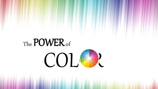 The POWERof COLOR