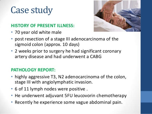 colorectal cancer case study examples