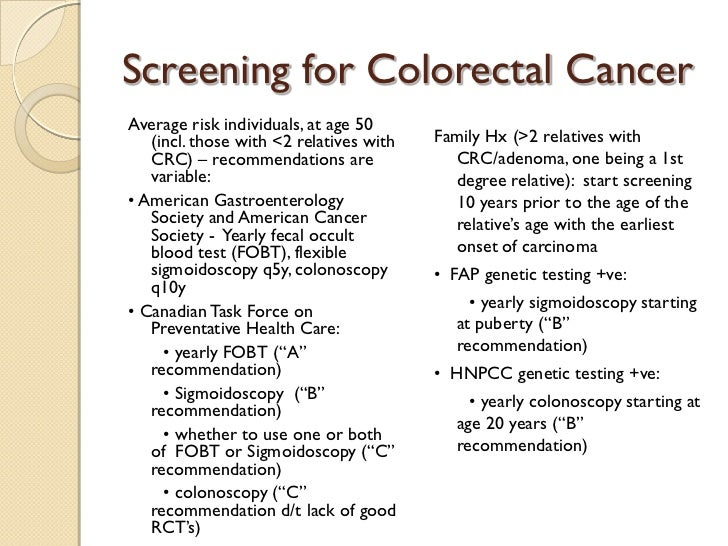 Colorectal cancer 14 toneelgroepblik Images
