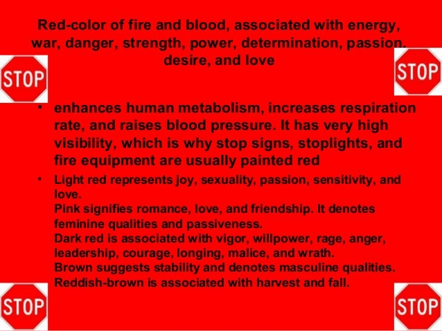 Red-color ...