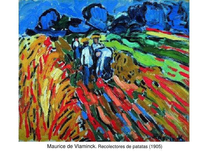 Maurice de Vlaminck. Recolectores de patatas (1905)
