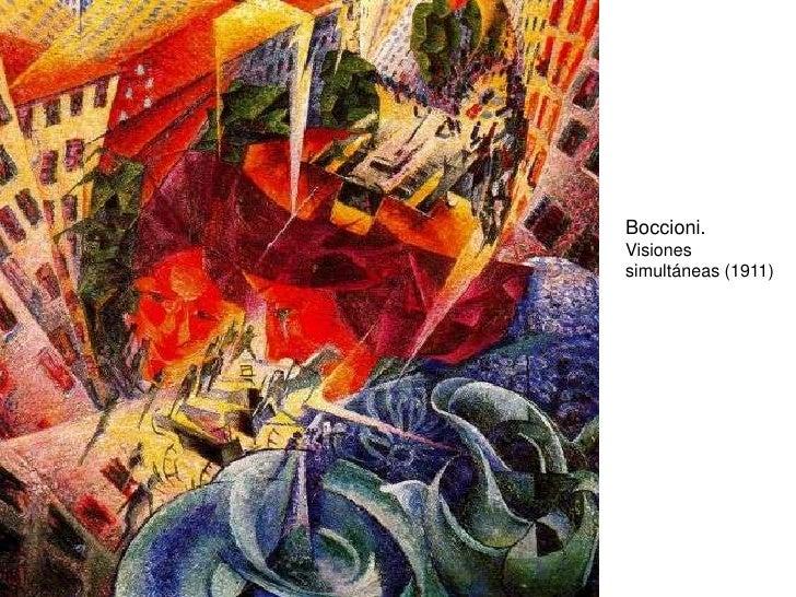 Boccioni. Visiones simultáneas (1911)