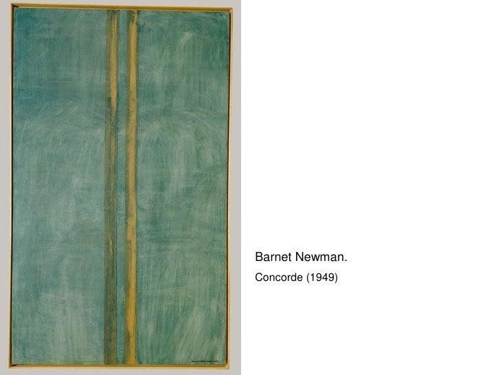 Barnet Newman. Concorde (1949)