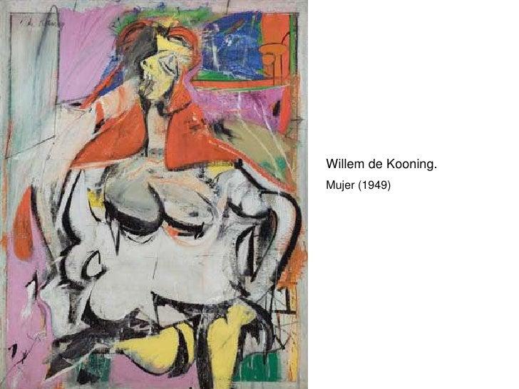 Willem de Kooning. Mujer (1949)
