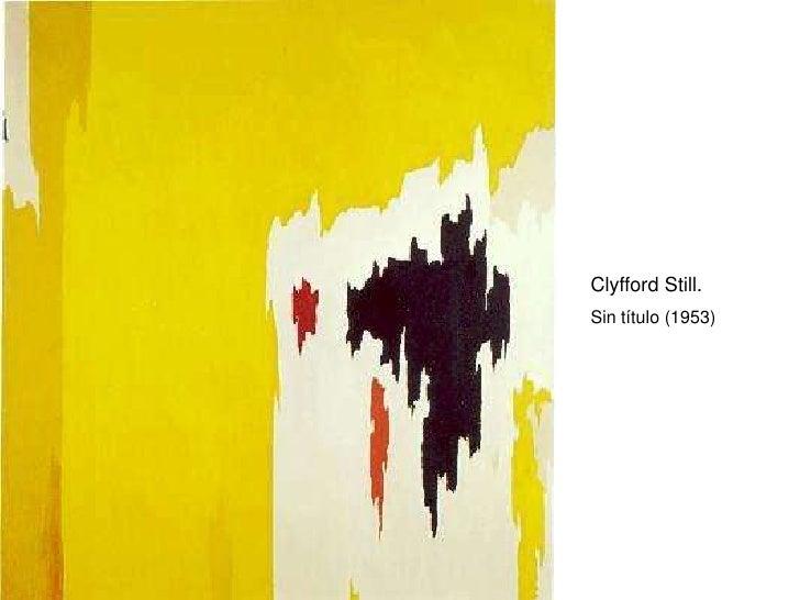 Clyfford Still. Sin título (1953)