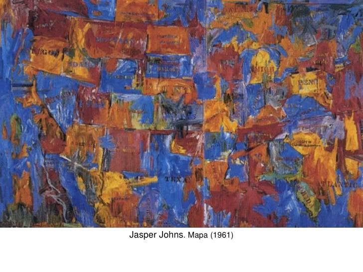 Jasper Johns. Mapa (1961)