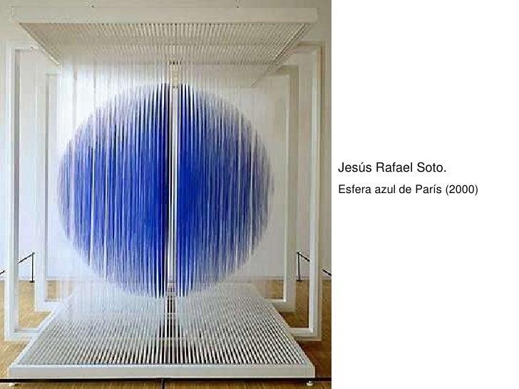 Jesús Rafael Soto. Esfera azul de París (2000)
