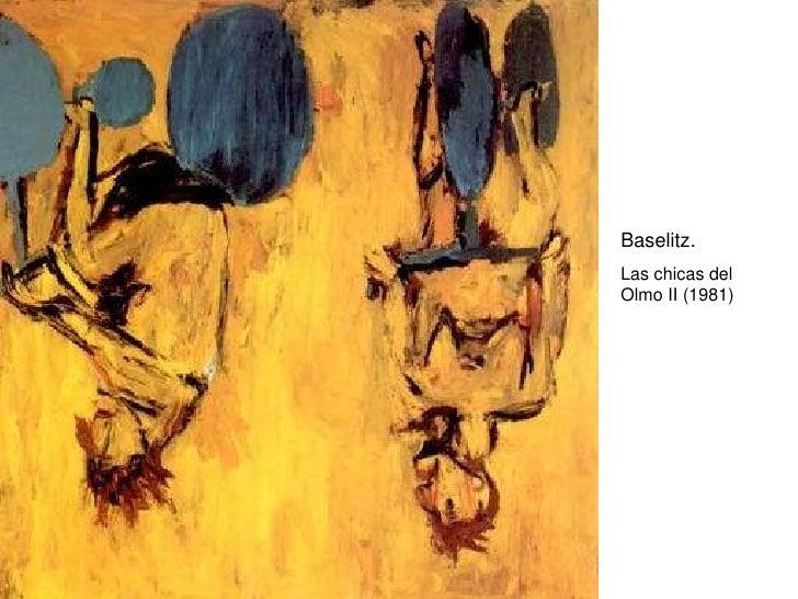 Baselitz. Las chicas del Olmo II (1981)