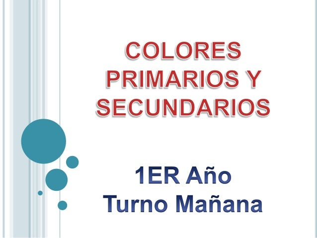  Los colores primarios son aquellos que no sepueden obtener por medio de mezclas de ningúnotro color.